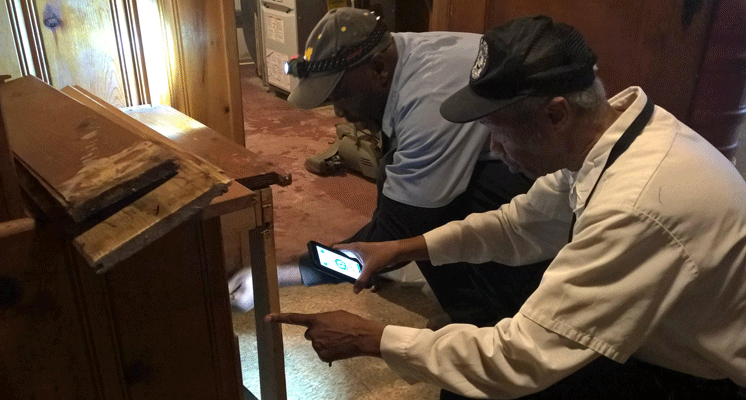 Searching for lead in Detroit's water lines