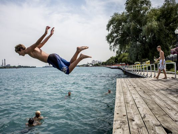 St. Clair River finally seeing healthier waters