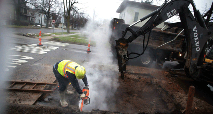 Replacement of lead water pipes accelerated in Kalamazoo