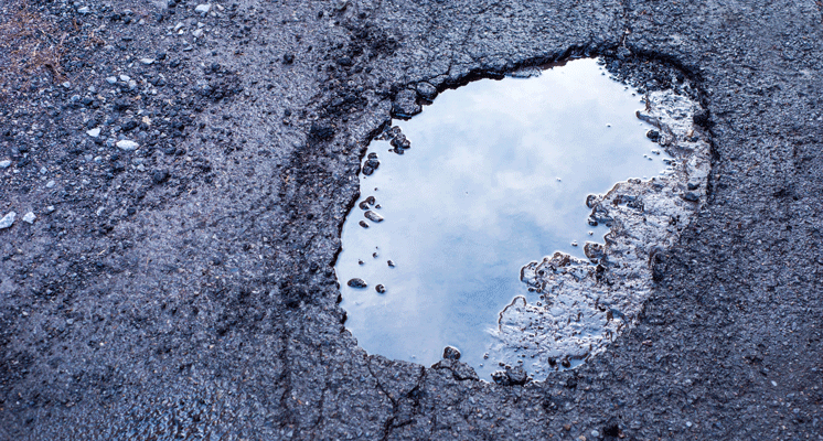 Tracking worst potholes in SE Michigan: Canton Center Road, Hall Road, Mound Road, Merriman Road