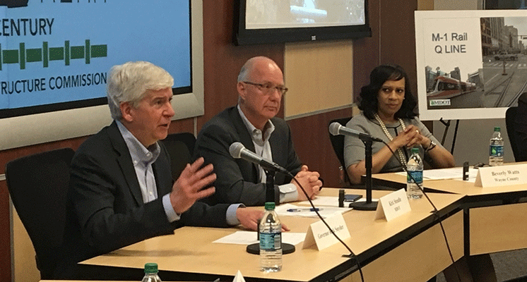 Governor Rick Snyder seeks to map Michigan's infrastructure
