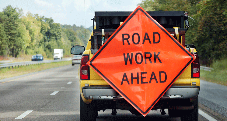 Pavement repairs to slow traffic in Davison area