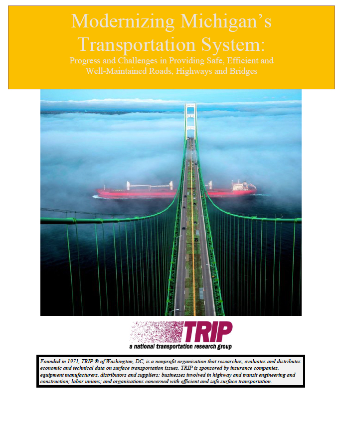 Click to TRIP: Modernizing Michigan's Transportation System page