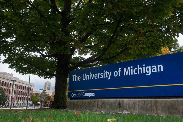 Collapsed sewer pipe discovered on University of Michigan property