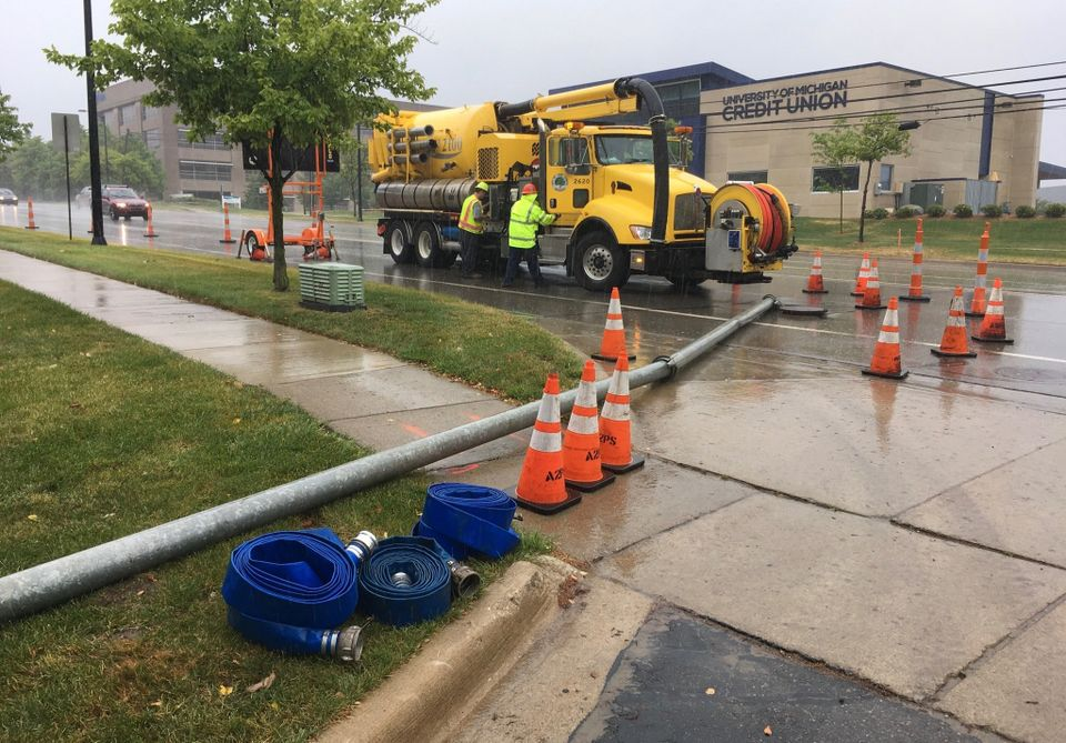 Ann Arbor reports another raw sewage spill into Malletts Creek
