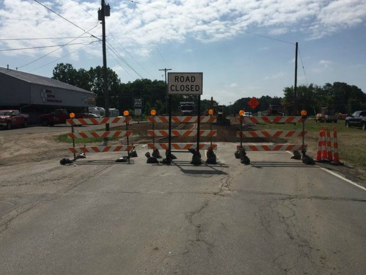 Intersection of M-50 and South Street closed for two weeks