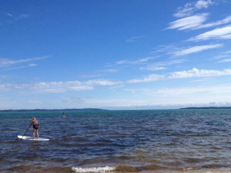 17 Michigan beaches flagged for high bacteria levels