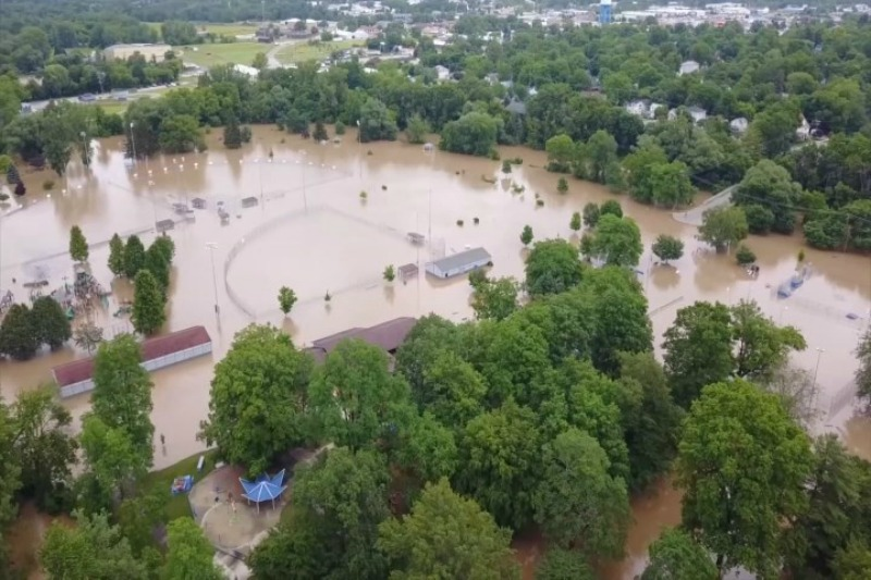 Chippewa River's Levels Affect Homes, Public Advised to Avoid it