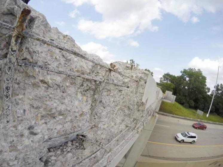 MDOT to fix loose concrete on bridge over I-96