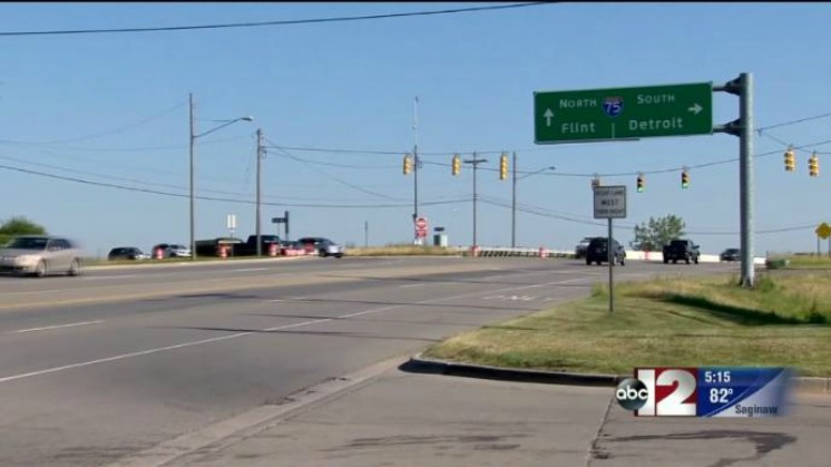 I-75 exit ramp closed at Holly Rd. for major project