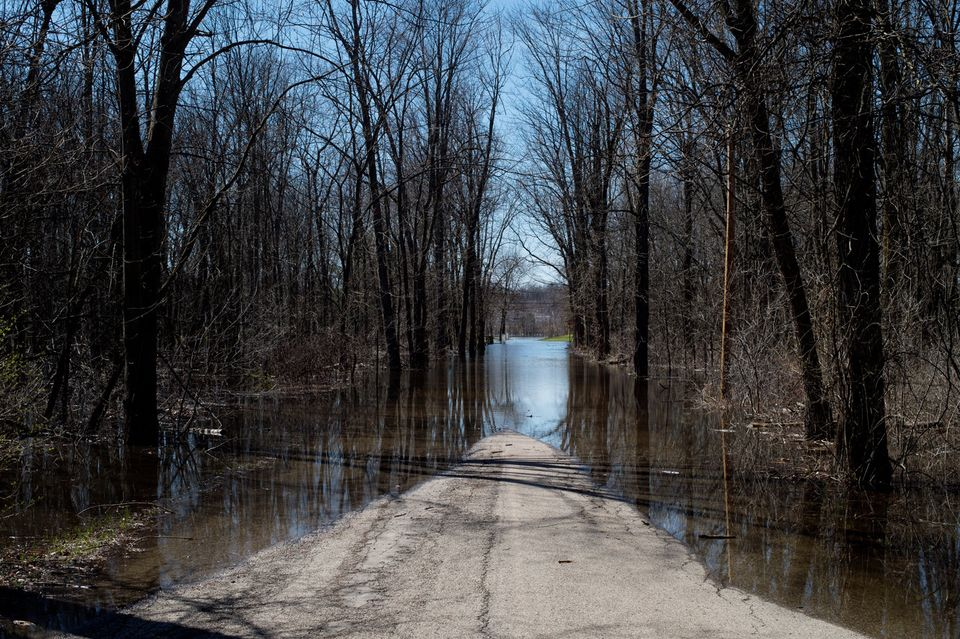 Flooding leads to 38.7M gallon sewage spill into Grand River