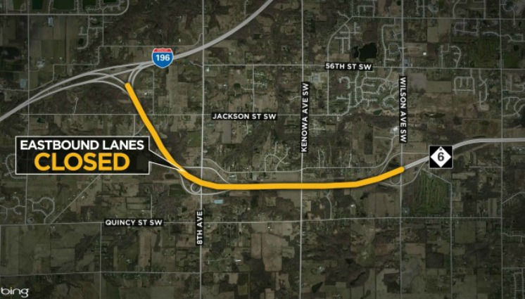 Get ready for a longer drive: EB M-6 closed to commuters