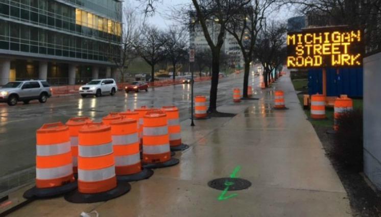 $1.7 million Michigan St. construction project done