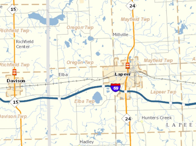 Expect lane closures as M-15 resurfacing project starts next week