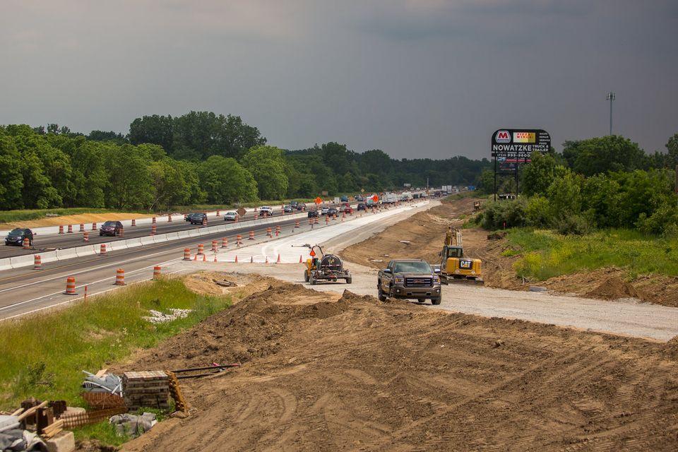 U.S. 23 work near Ann Arbor halts for Labor Day; traffic shift remains