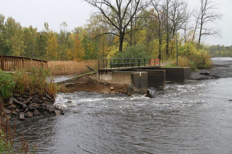 Dam breach sends contaminated sediment downstream in Paw Paw