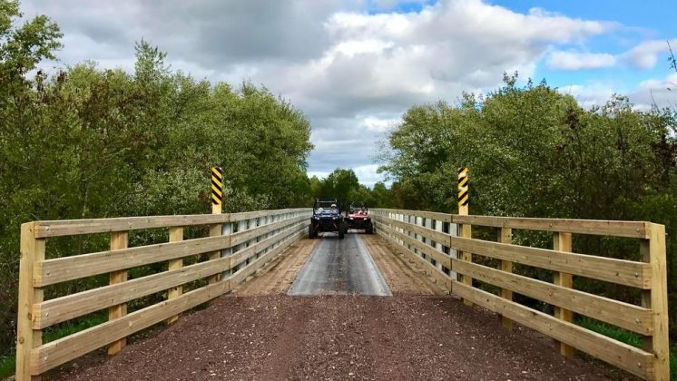 Trail bridge reopens after $800k repair project