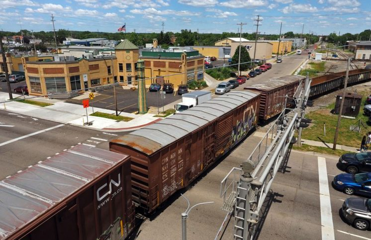 Growing frustration over freight train delays spurs talk with railroad