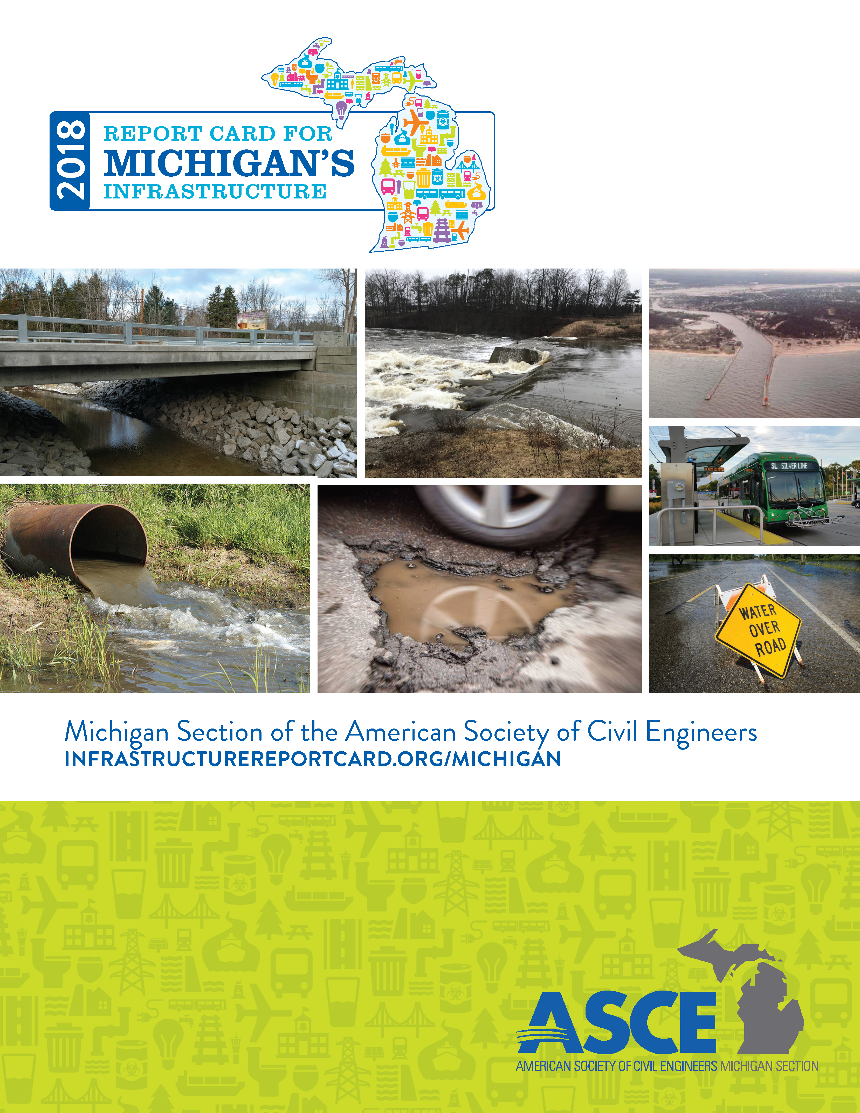 Click to ASCEMI: Michigan Infrastructure Report Card page