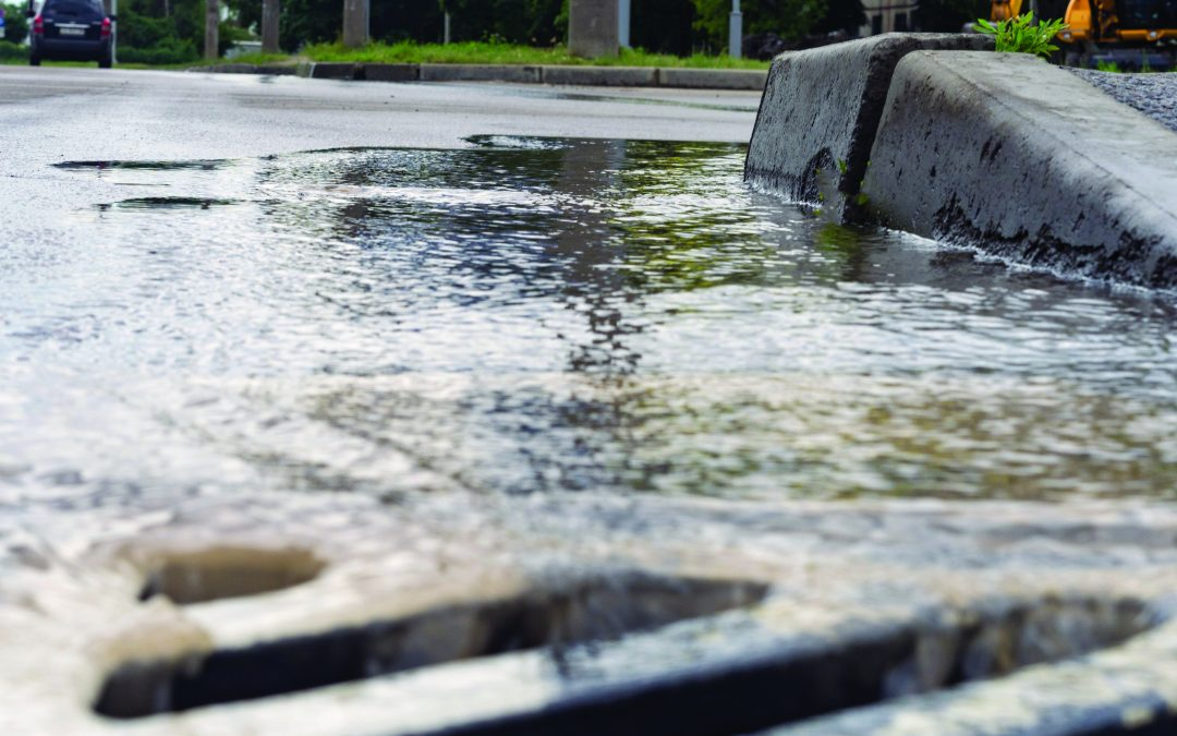 Sanitary Sewer Overflow reported after recent rain