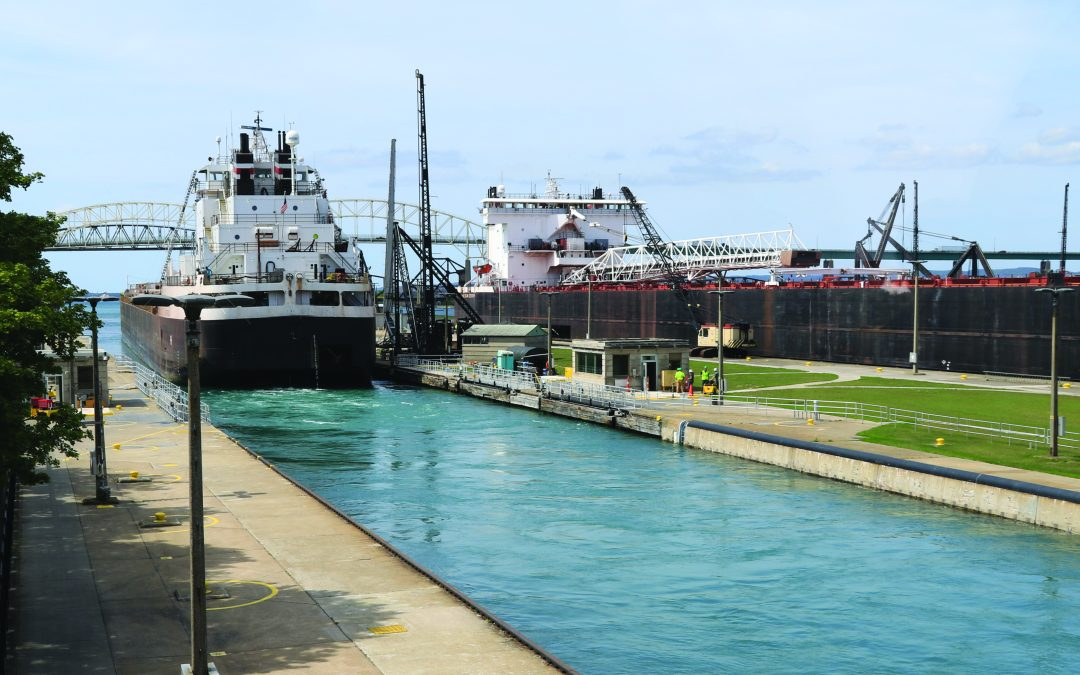 Lt. Gov. Calley Visits the Soo Locks, Talks Critical Need for Upgrade