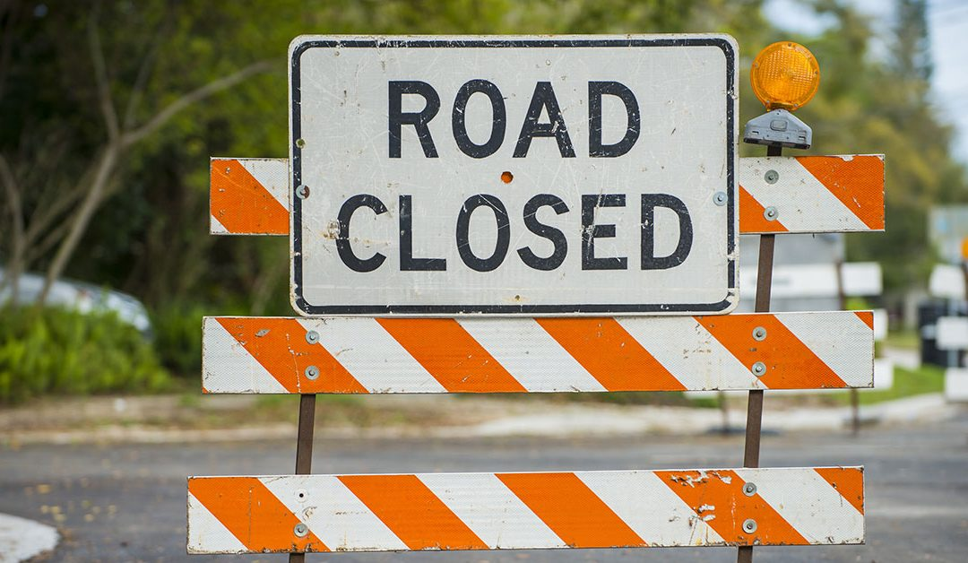 Flooding closes road between Whitehall and Montague
