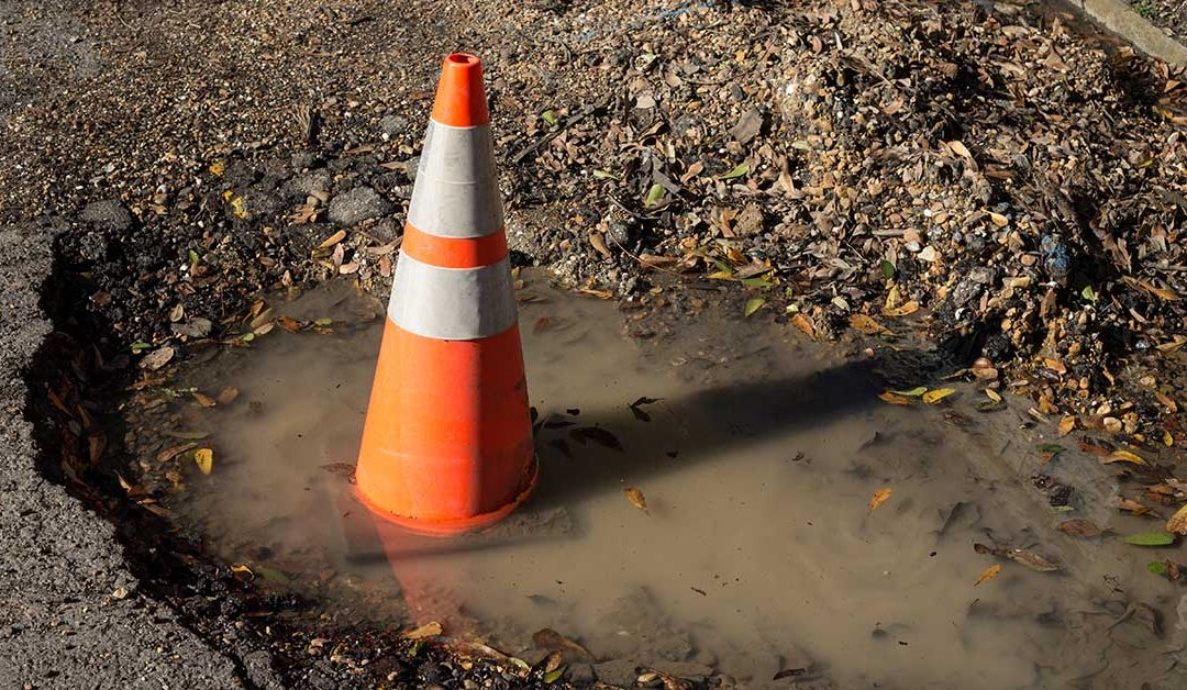 Potholes opening up in Mid-Michigan