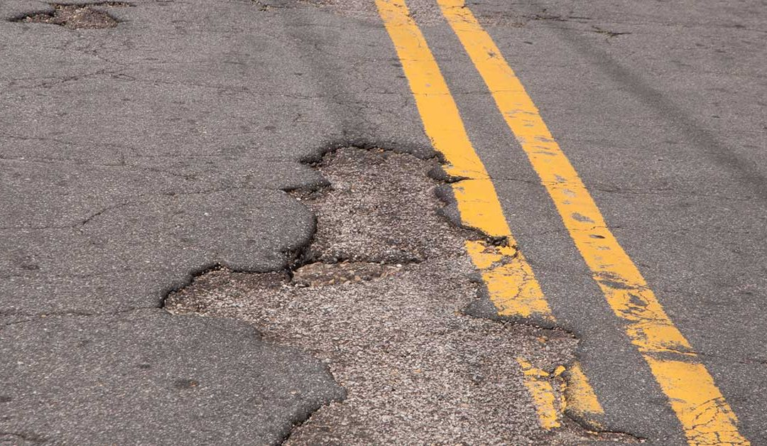 Report Grades Half Michigan Roads 'Poor'