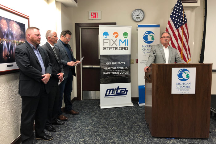 Michigan lawmakers have 'window of opportunity' to tackle road funding this year, business leaders say