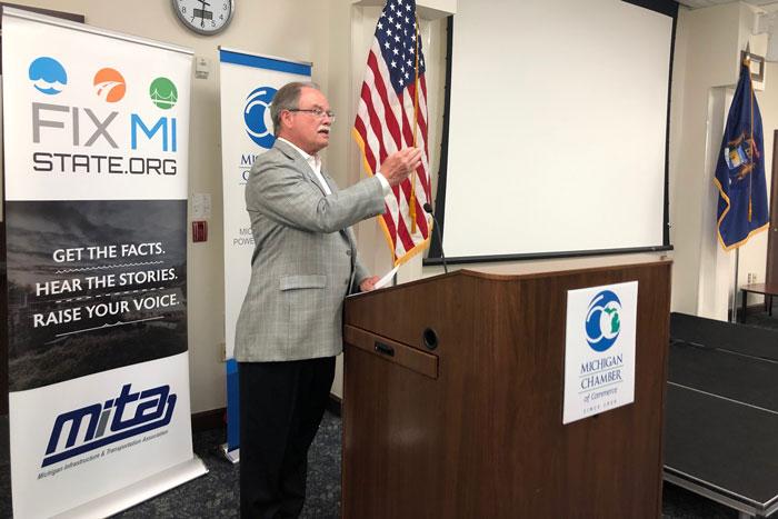 Michigan Chamber: 'Wishful thinking' won't fix crumbling roads
