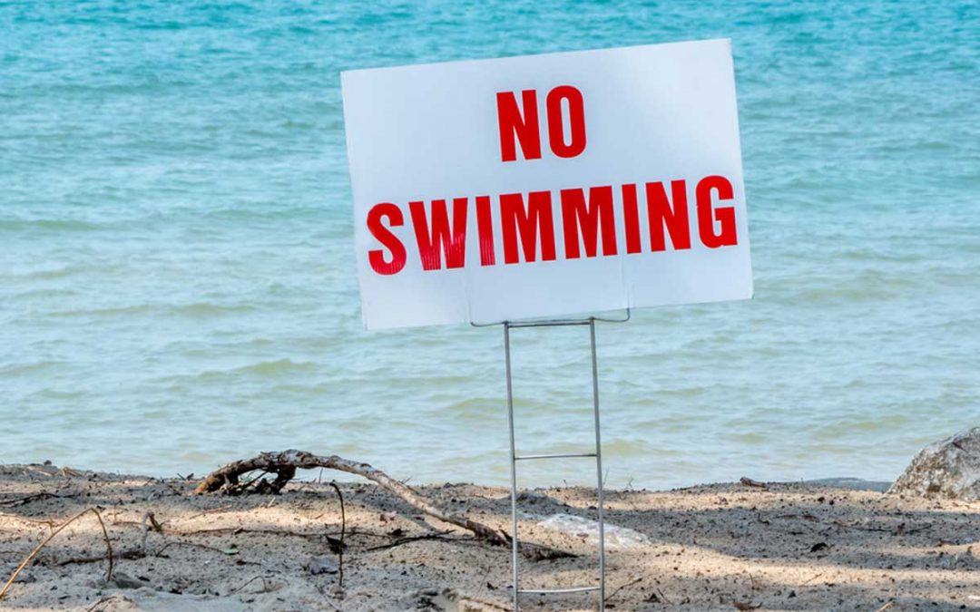 High E.Coli level closes waterfront at Bluebell Beach