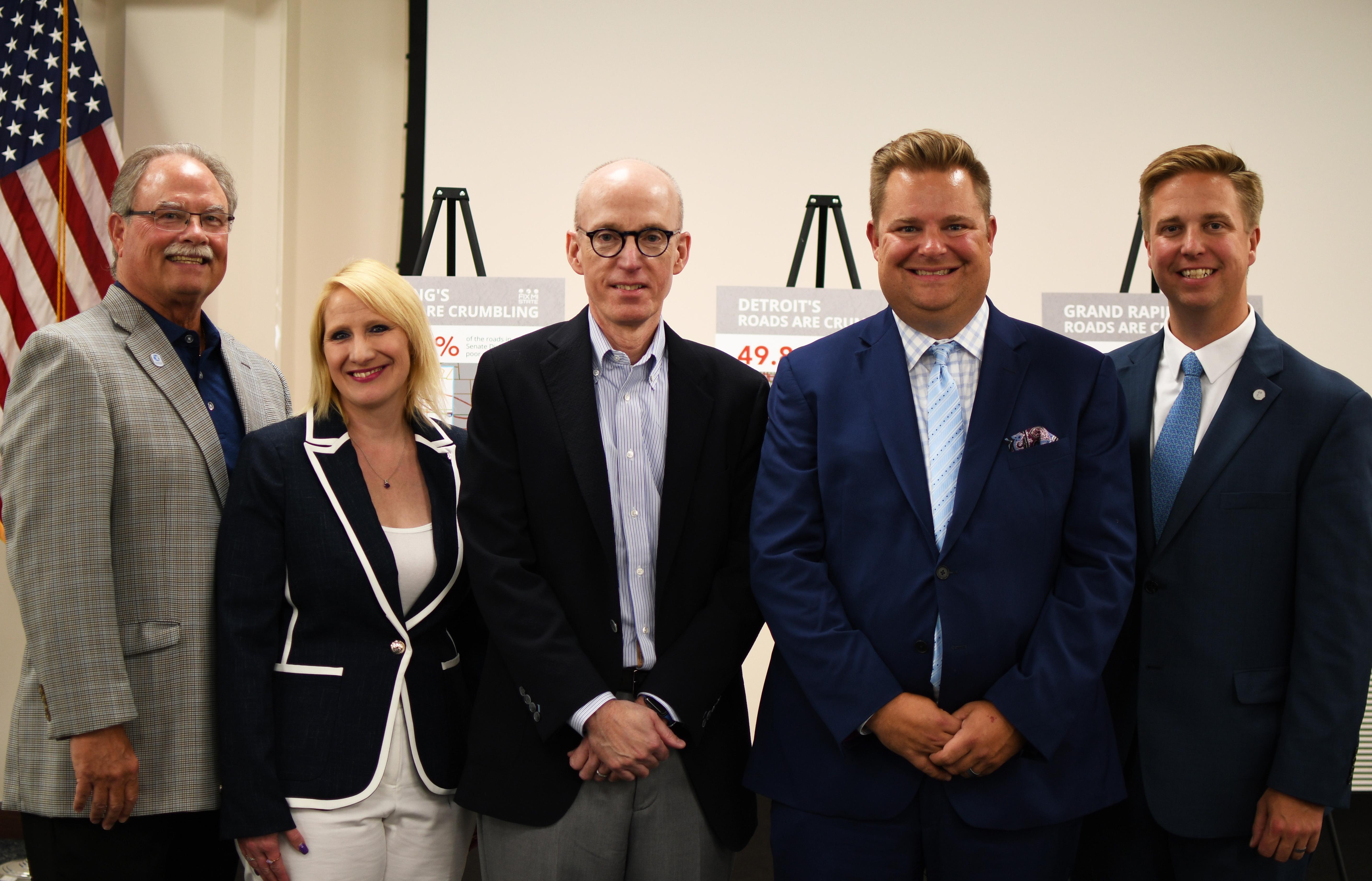 Michigan Business Leaders Call On Legislature Governor To Fix The Roads Fix Mi State