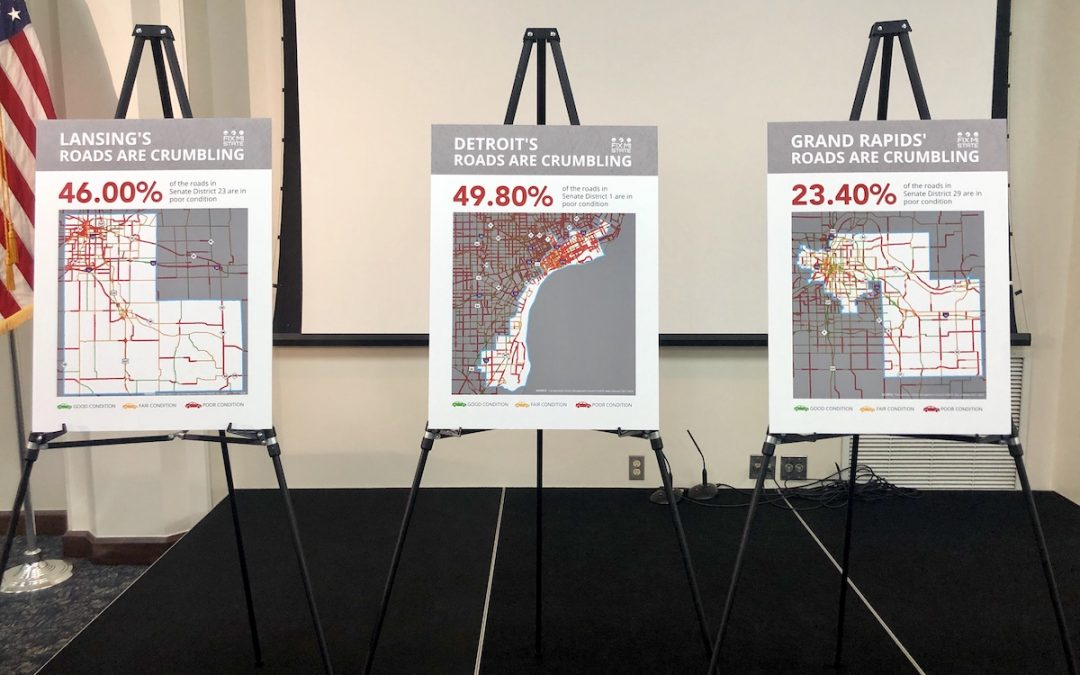 Michigan Chamber to lawmakers: Finish road funding deal; 'good roads mean good business'
