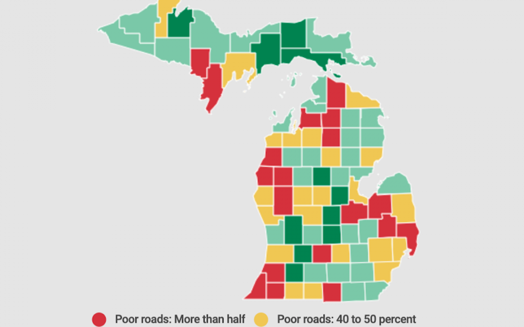 Hate Michigan roads? Your neighbors' may be way better.