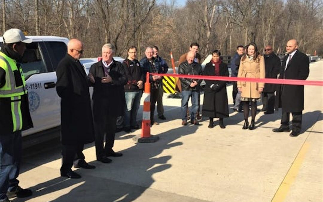 Canton Township's Lilley Road bridge reopens 30 months after closure