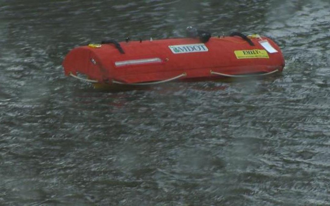 MDOT using unmanned boats for bridge inspections