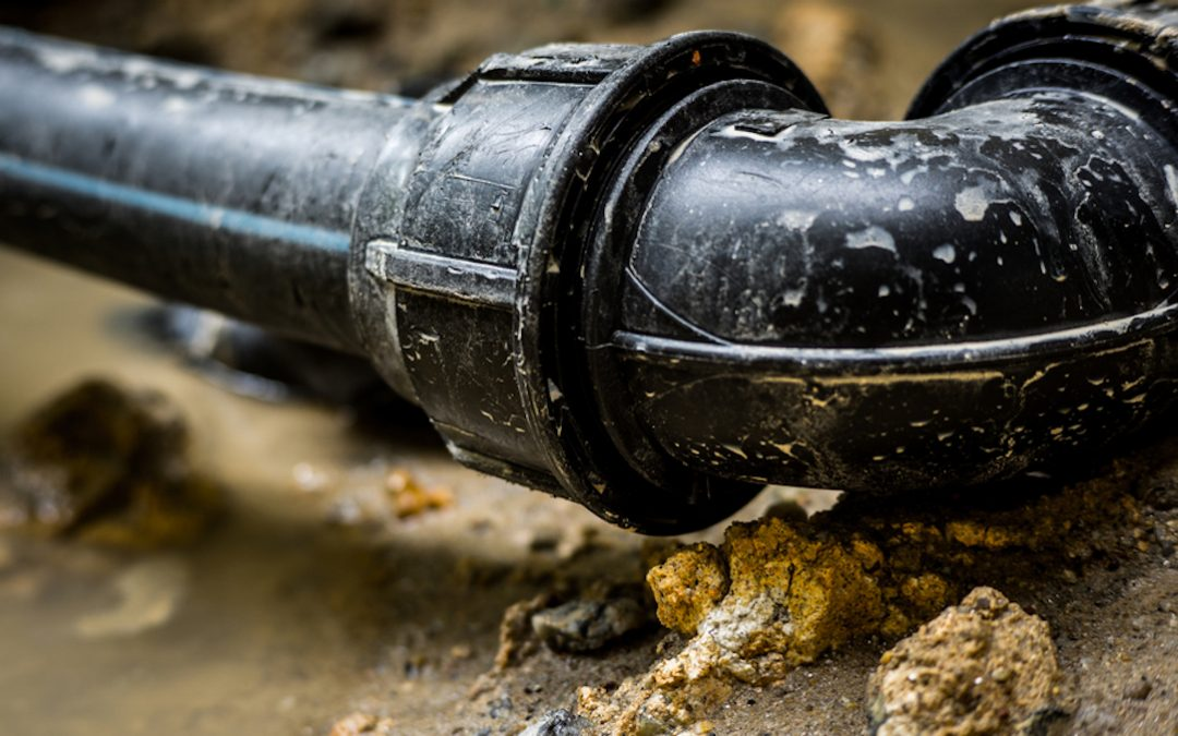 Sewer line break leaks 50 gallons in Augusta Township