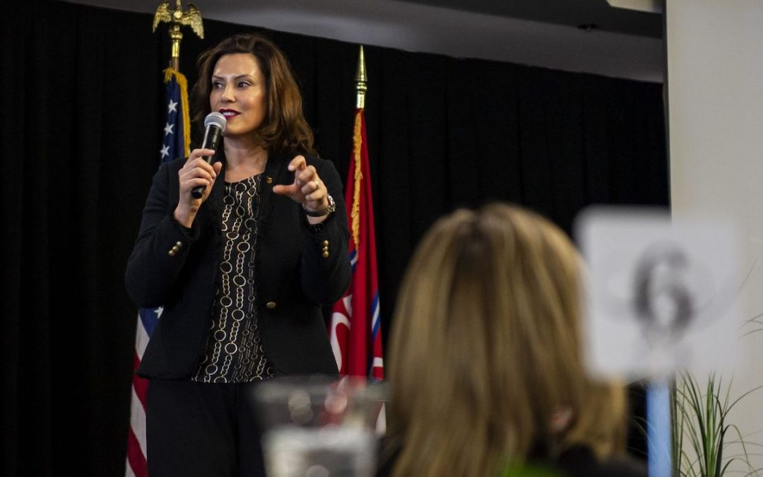 Gov. Whitmer looking to 'triage' Michigan roads this year