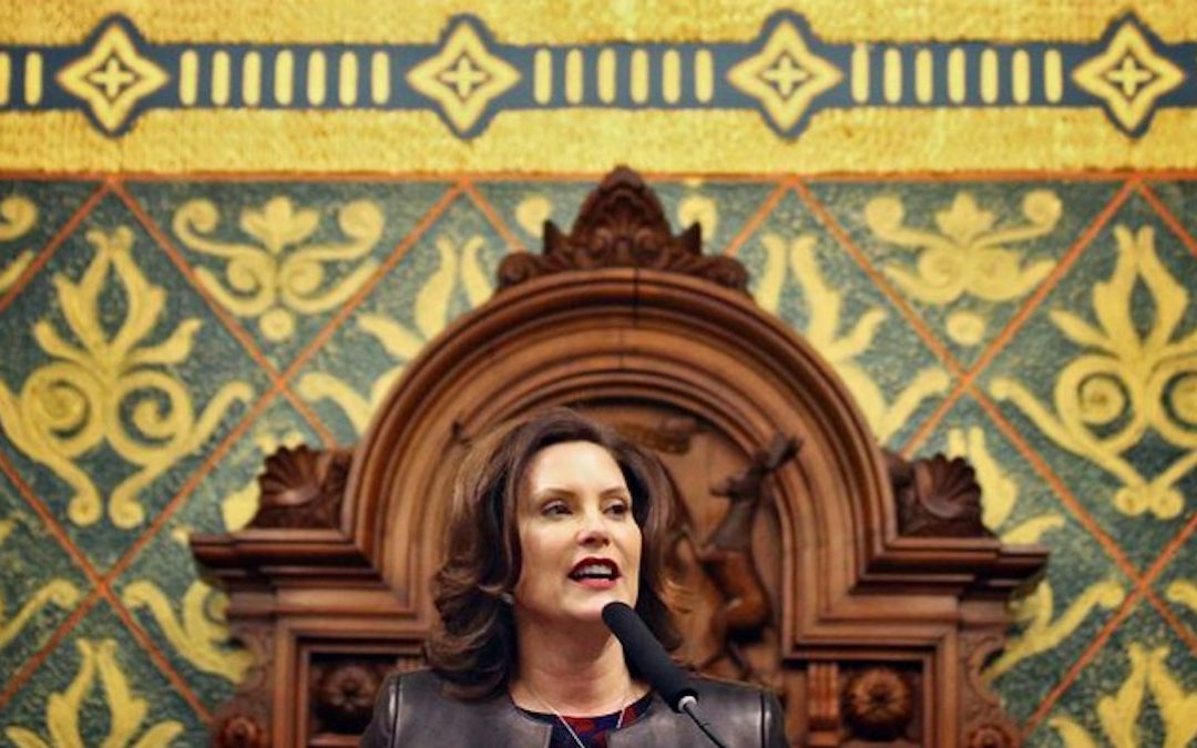 'I am not here to play games' and 5 other pointed comments from Gov. Whitmer's State of the State speech