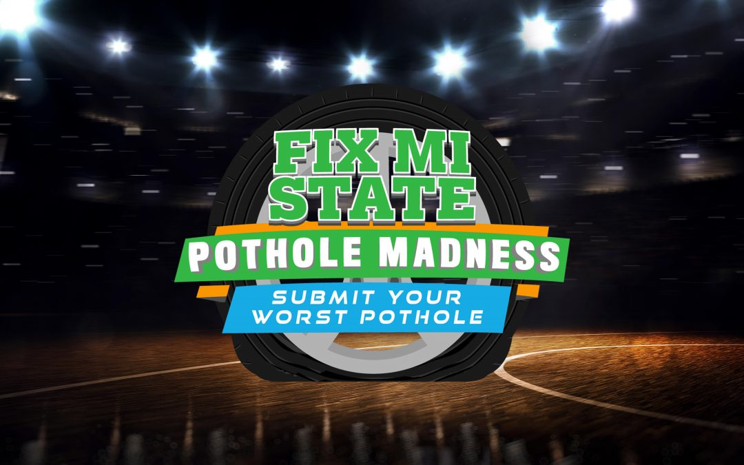 Pothole Madness Bracket Challenge launched during March Madness