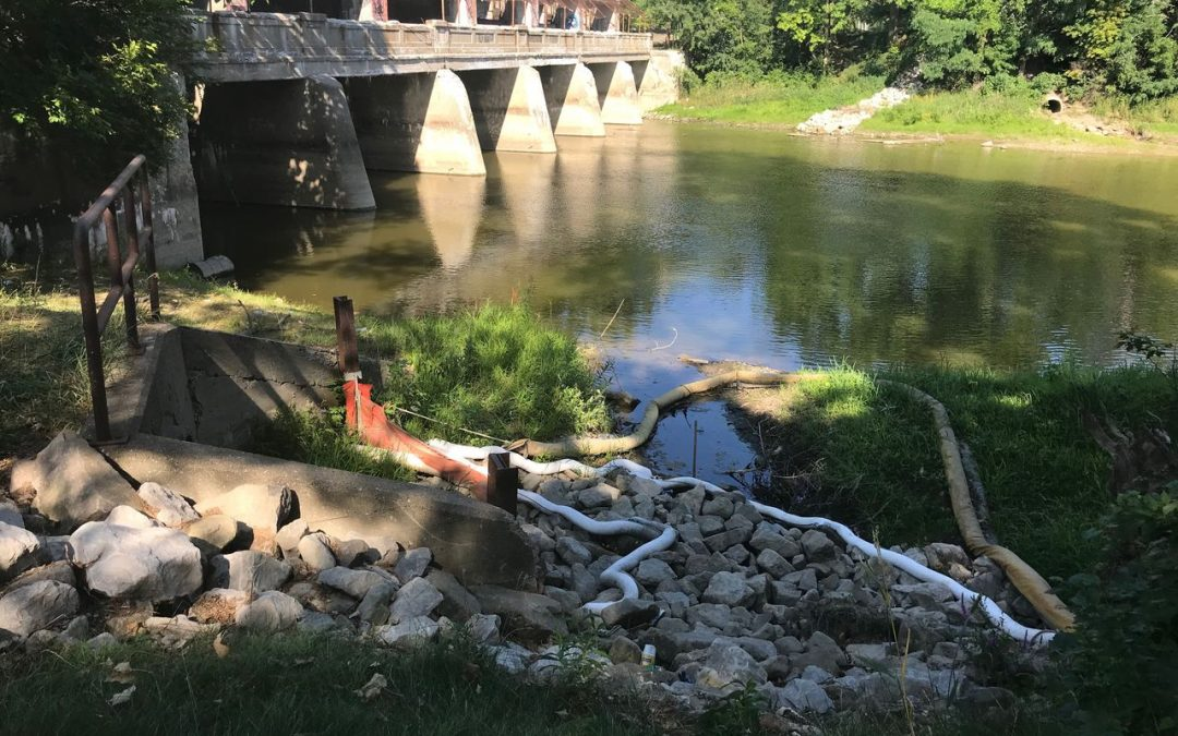 Buick City postpones work to reroute sewer leaking PFAS into Flint River