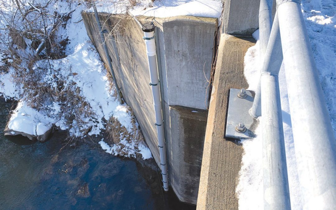 Sensors to monitor Clinton River