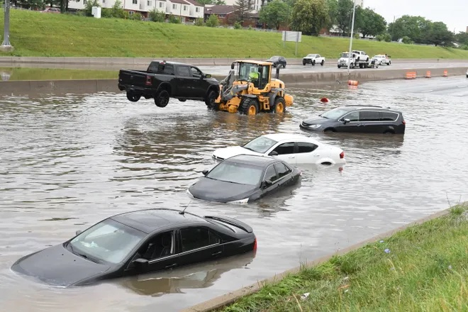 Communities brace for more after rain overwhelms SE Mich. water system