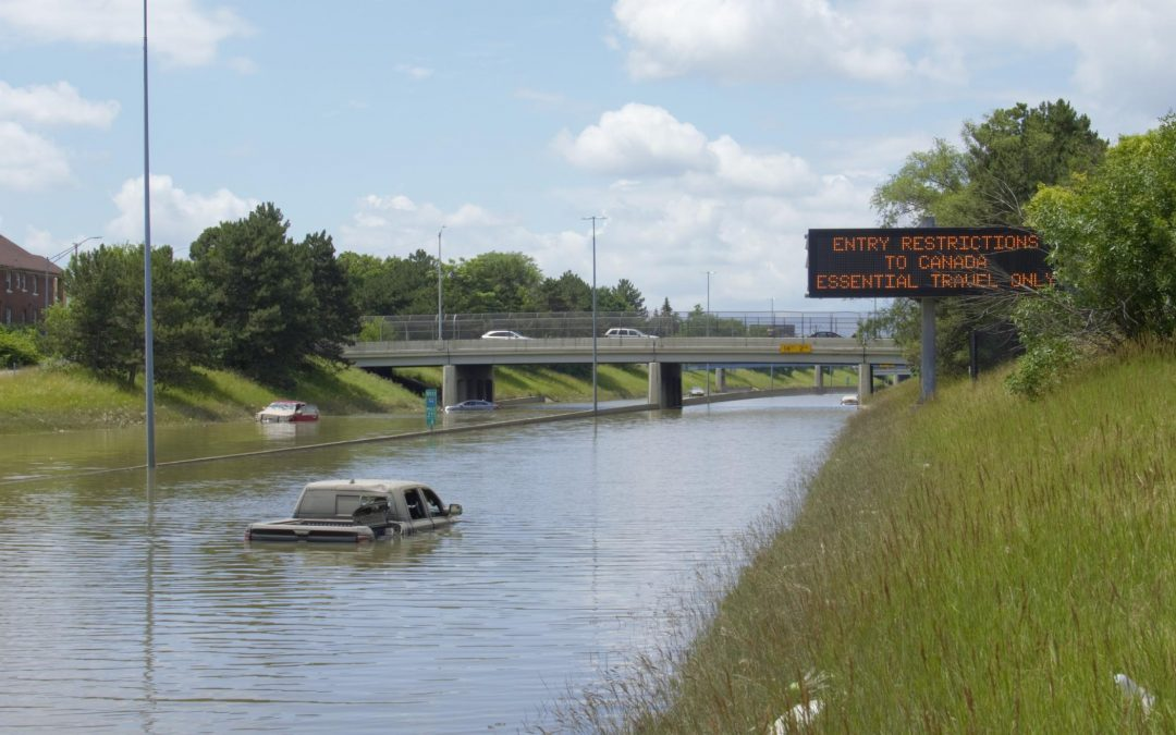 Metro Detroit Flooding Result of Climate Change, Underinvestment in Infrastructure, Whitmer Says